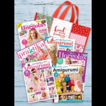 Praktika Amigurumi & Horgolás ajándékcsomag