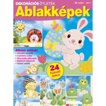 Dekorációs Ötletek 2020/36 húsvéti ablakmatricák