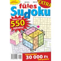 Füles Sudoku Extra 2019/3