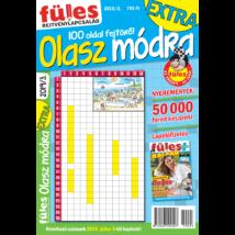 Füles Olasz Módra Extra 2019/3