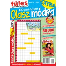 Füles Olasz Módra Extra 2019/5