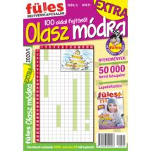 Füles Olasz Módra Extra 2020/1