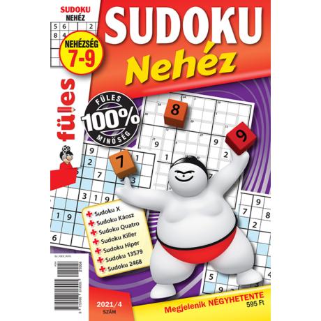 Füles Sudoku Nehéz előfizetés éves