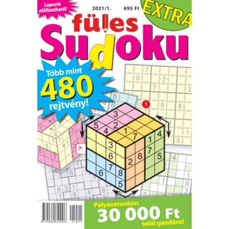 Füles Sudoku extra 2021/1