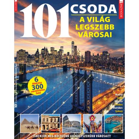 Füles Bookazine 101 csoda - a világ legszebb városai 2020/4