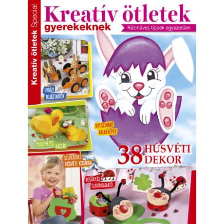 Kreatív Ötletek Special Színes gyurmafigurák 2019/23