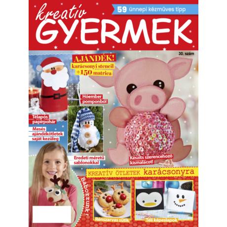 Kreatív Gyermek Karácsony, tél 2018/30