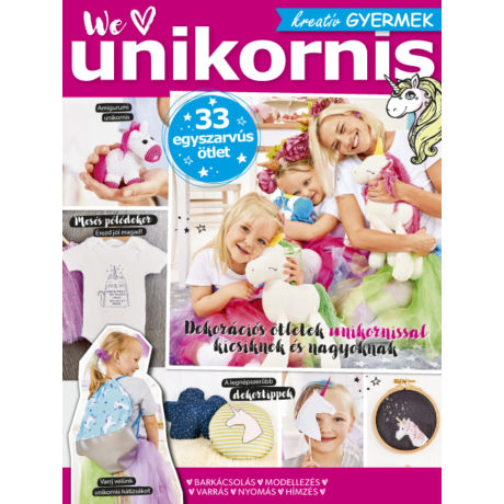 Kreatív Gyermek We love unikornis 2019/31