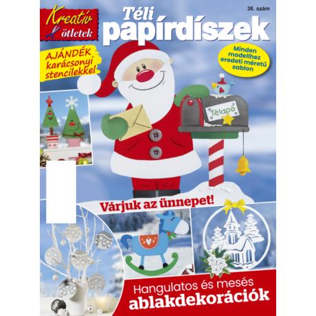 Kreatív ötletek Ablakképek tél 2018/35