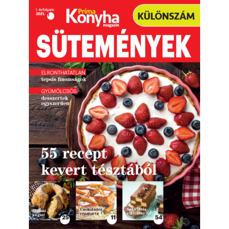Príma Konyha különszám 2021/1 - kevert tészták