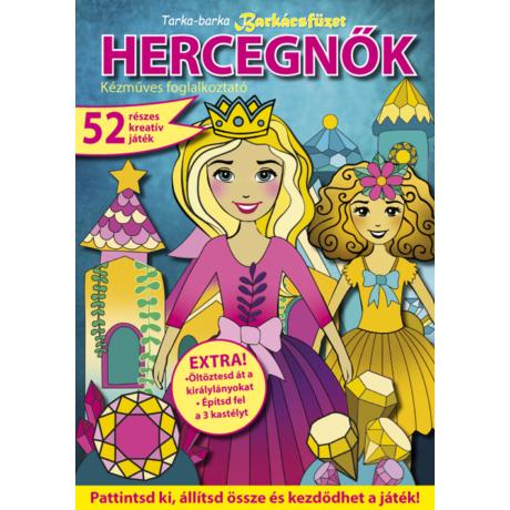 Tarka Barka barkácsfüzet 2020/40 hercegnők