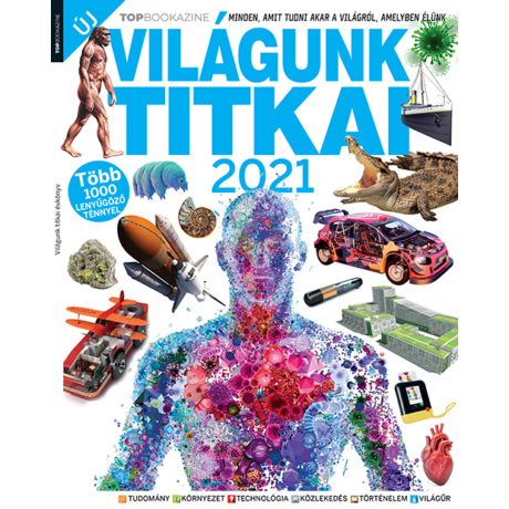 TOP Bookazine 2021/1 - Vilgáunk titkai 2021