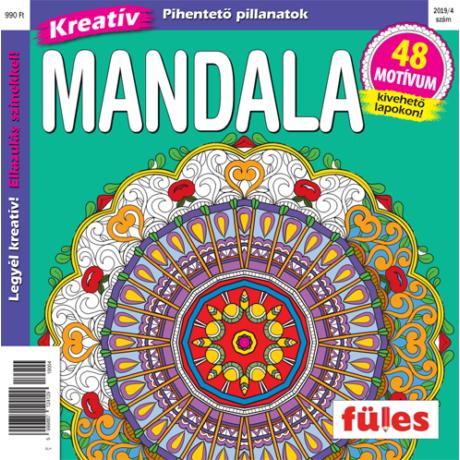 Kreatív Mandala 2019/4